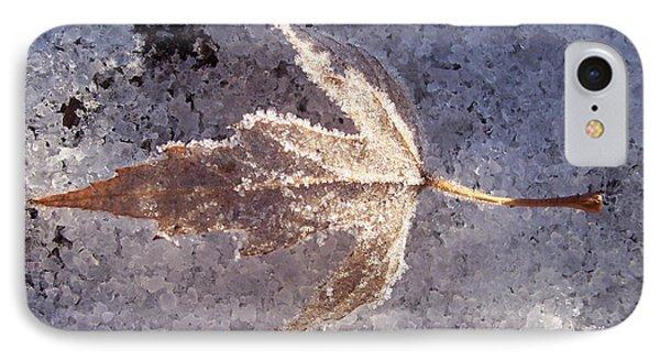 Frozen Leaf IPhone Case