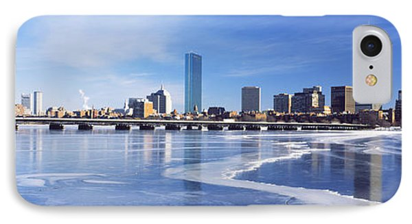 Frozen Over Charles River With Harvard IPhone Case
