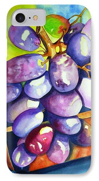 Purple Grapes IPhone Case