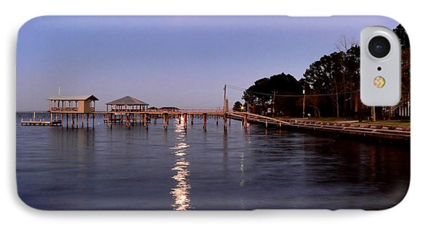 Full Moon On The Bay IPhone Case