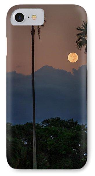 Full Moon Setting IPhone Case