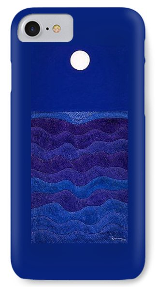 iPhone 8 Case - Full Moonscape II by Synthia SAINT JAMES