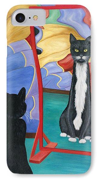 Fun House Skinny Cat IPhone Case