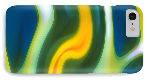 Abstracy Tide 8 IPhone Case