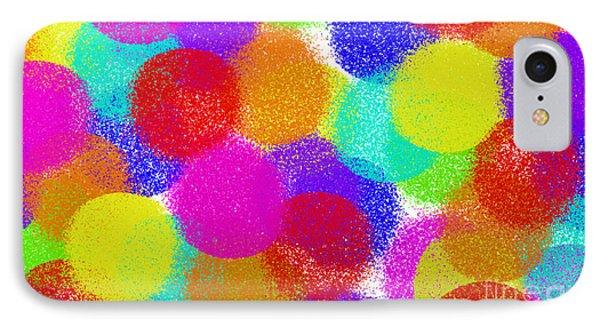 Fuzzy Polka Dots IPhone Case