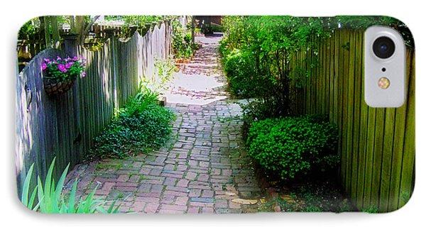 Garden Alley IPhone Case