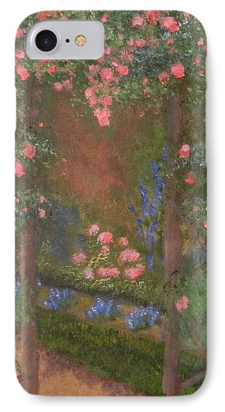 Garden Arbor  By Tanja Beaver IPhone Case