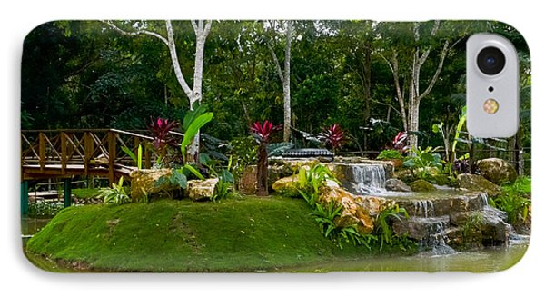 Garden At Good Hope Jamaica IPhone Case
