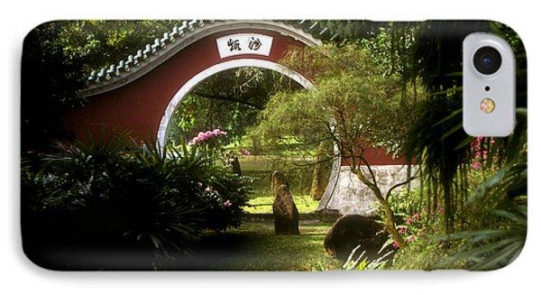 Garden Moon Gate 21e IPhone Case