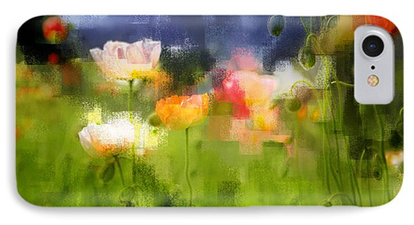 Garden Of Poppies IPhone Case