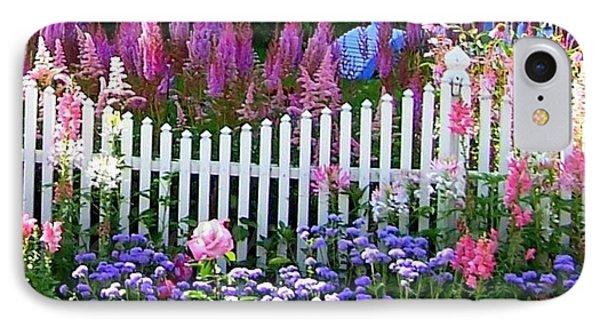 Garden On Mackinac Island IPhone Case