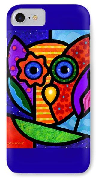 Garden Owl IPhone Case