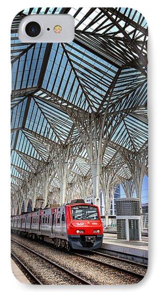 Gare Do Oriente Lisbon IPhone Case
