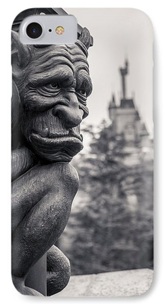 Castle iPhone 8 Case - Gargoyle by Adam Romanowicz