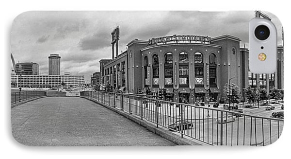 Gateway To Busch Black And White IPhone Case