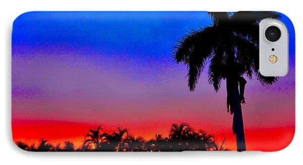 Gator Nation Sunset IPhone Case