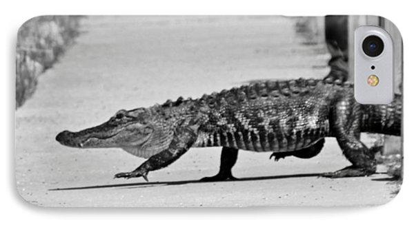 Gator Walking IPhone Case