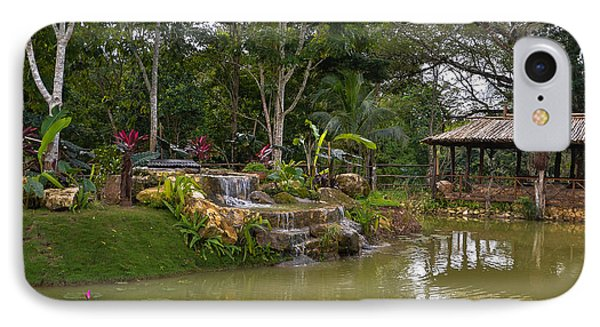 Gazebo View Good Hope Estate Jamaica IPhone Case