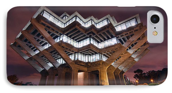Geisel Library IPhone Case