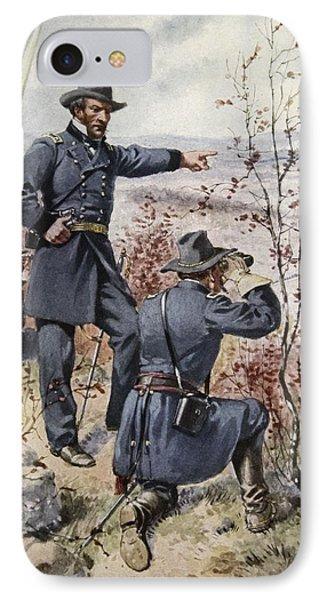 General Sherman At Kenesaw Mountain IPhone Case