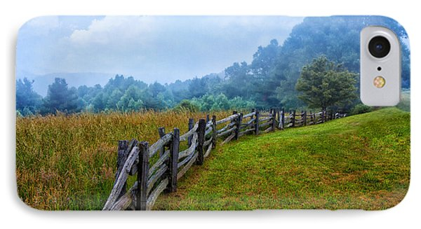 Gentle Morning - Blue Ridge Parkway I IPhone Case