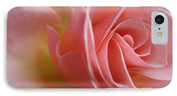 Gentle Pink Rose IPhone Case