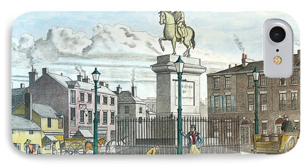 George 111 Statue Liverpool IPhone Case