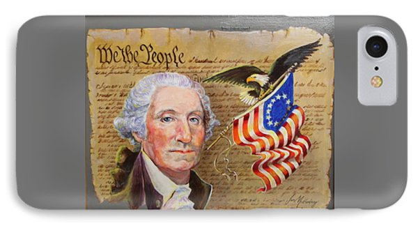 George Washington And The Constitution     IPhone Case