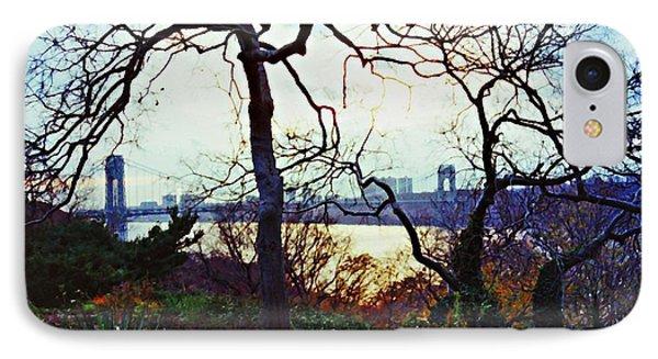 George Washington Bridge At Sunset IPhone Case