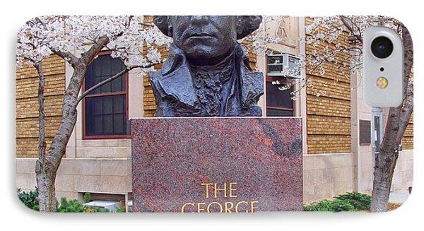 George Washington University Bust 1958 IPhone Case