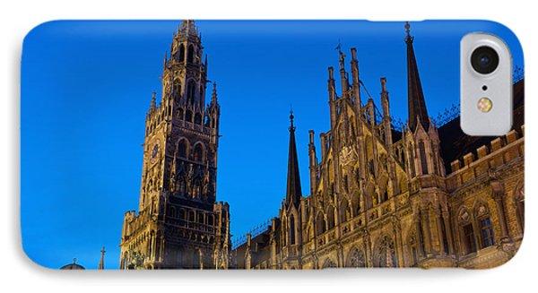 Germany, Bavaria, Rathaus IPhone Case