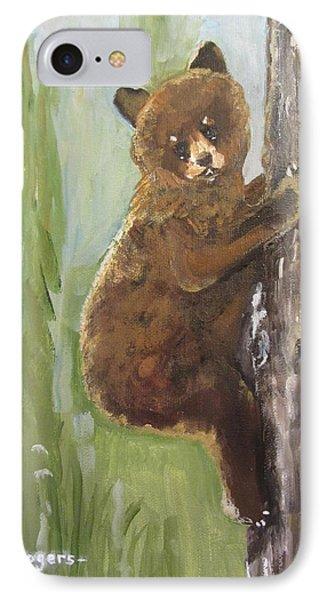 Get Away Bear IPhone Case