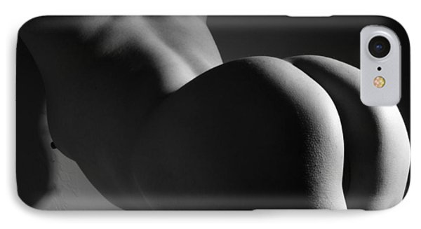 Nudes iPhone 8 Case - Getting A Little Behind In My Work by Joe Kozlowski