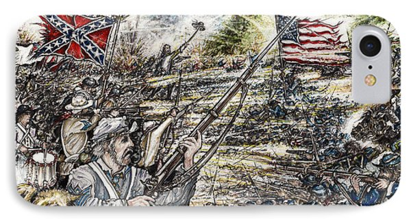 Gettysburg Ash's At The Angle IPhone Case