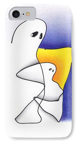 Ghost And Child IPhone Case