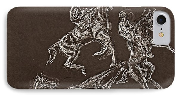 Ghost Riders In The Sky IPhone Case