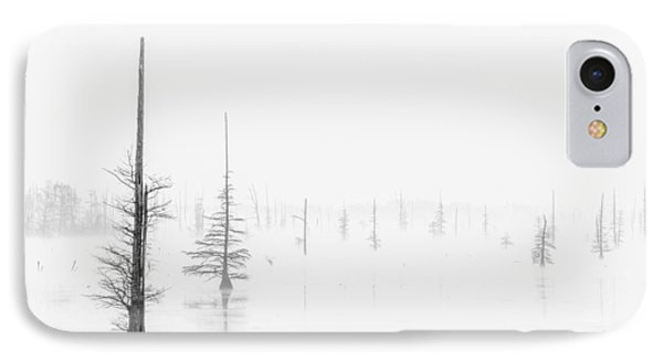 Ghost Trees Lake Conway IPhone Case