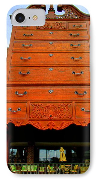 Giant Chippendale Chest Of Drawers IPhone Case