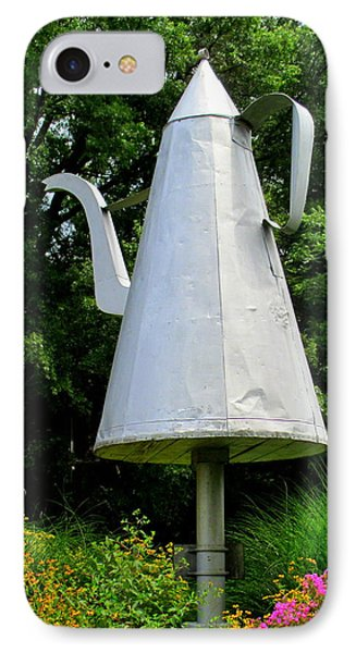 Giant Coffee Pot In Old Salem IPhone Case