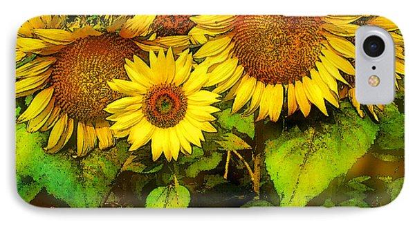 Giants Sunflowers IPhone Case
