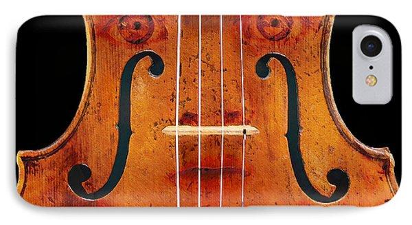 Girl In A Violin IPhone Case