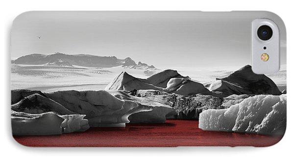 Glacier Blood IPhone Case