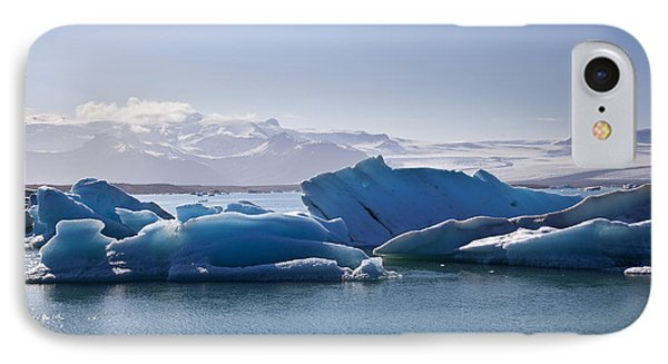 Glacier In Iceland IPhone Case