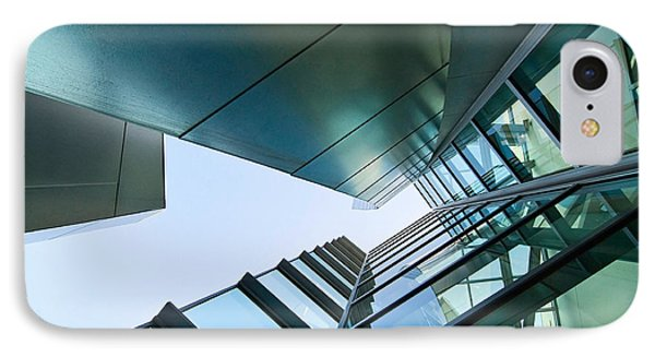 Glass And Metal - Walt Disney Concert Hall In Downtown Los Angeles IPhone Case