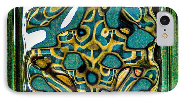 Glass Block Abstract 3 IPhone Case