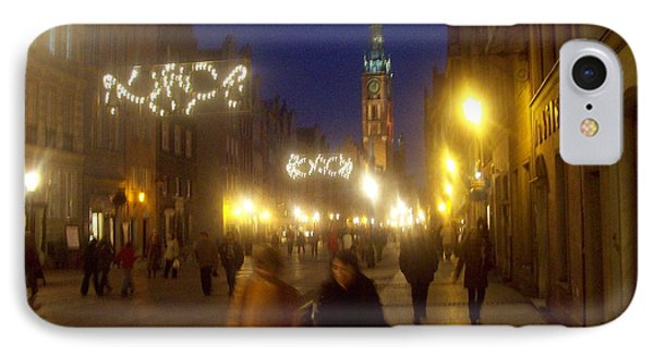 Glowing Old Gdansk IPhone Case