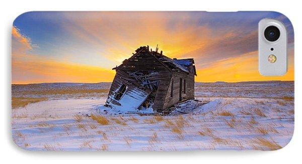 Rural Scenes iPhone 8 Case - Glowing Winter by Kadek Susanto