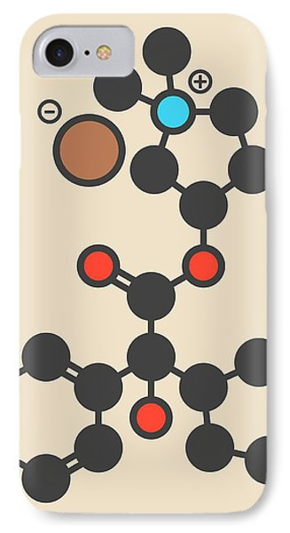 Glycopyrronium Bromide Drug Molecule IPhone Case