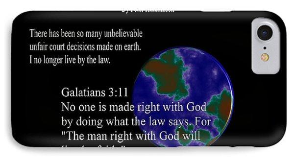 God Vs Law IPhone Case