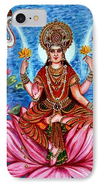 Goddess Lakshmi IPhone Case